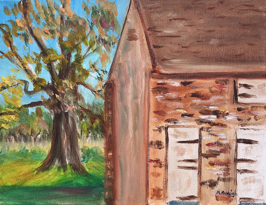 Barn Painting - Hope Lodge by Marita McVeigh