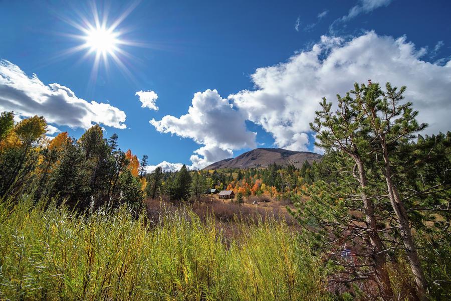 Hope Valley Fall Cabin - 4 by Jonathan Hansen