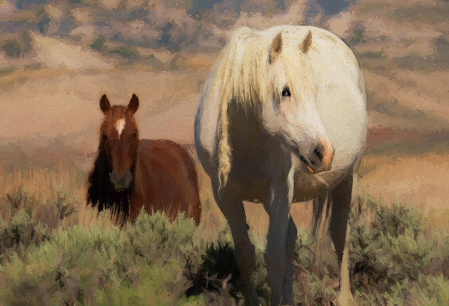 Hopscotch and Tecate by Fine Art Western Paintings