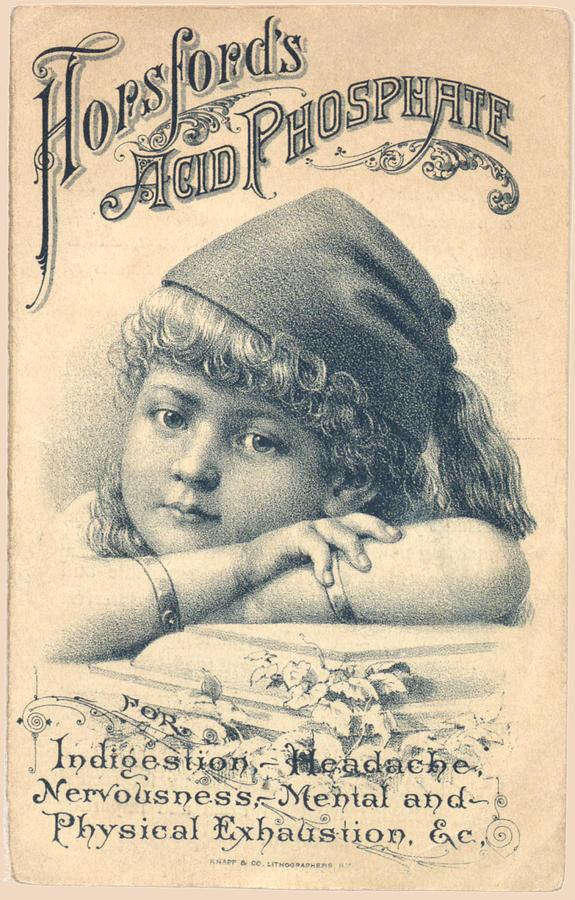 Hopsfords Acid Phosphate Remedy Vintage Advertising Design  by Vintage Advertising Designs
