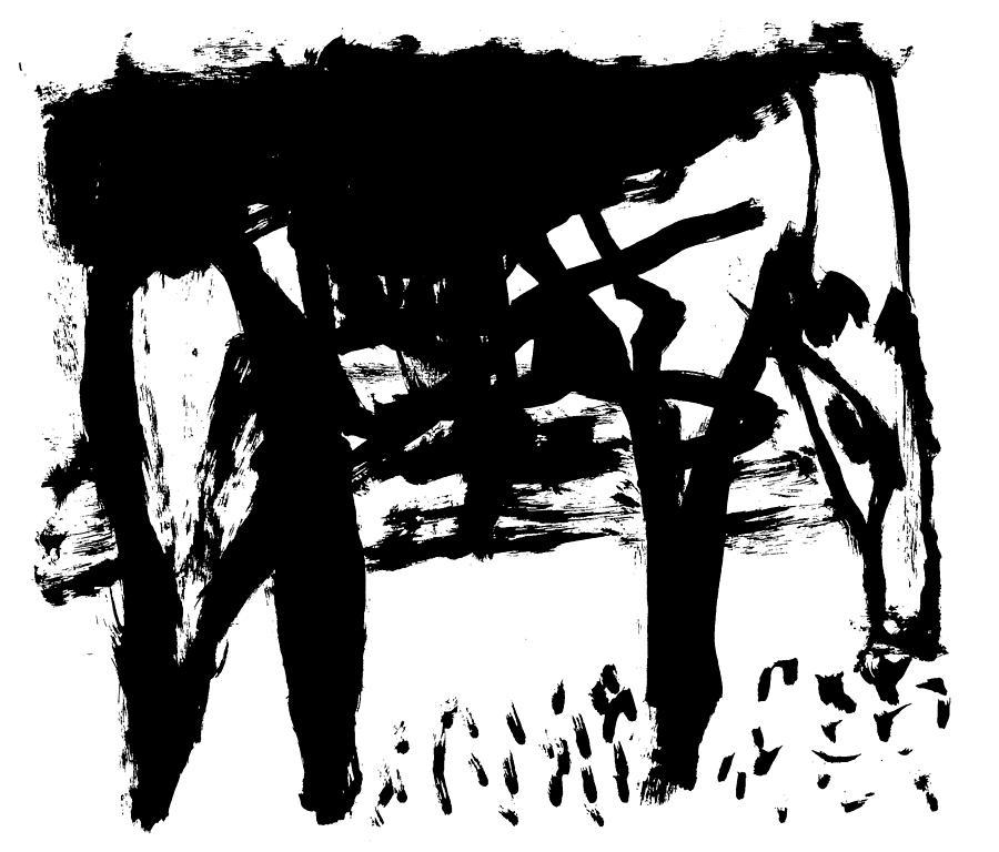 Horse eating by Artist Dot