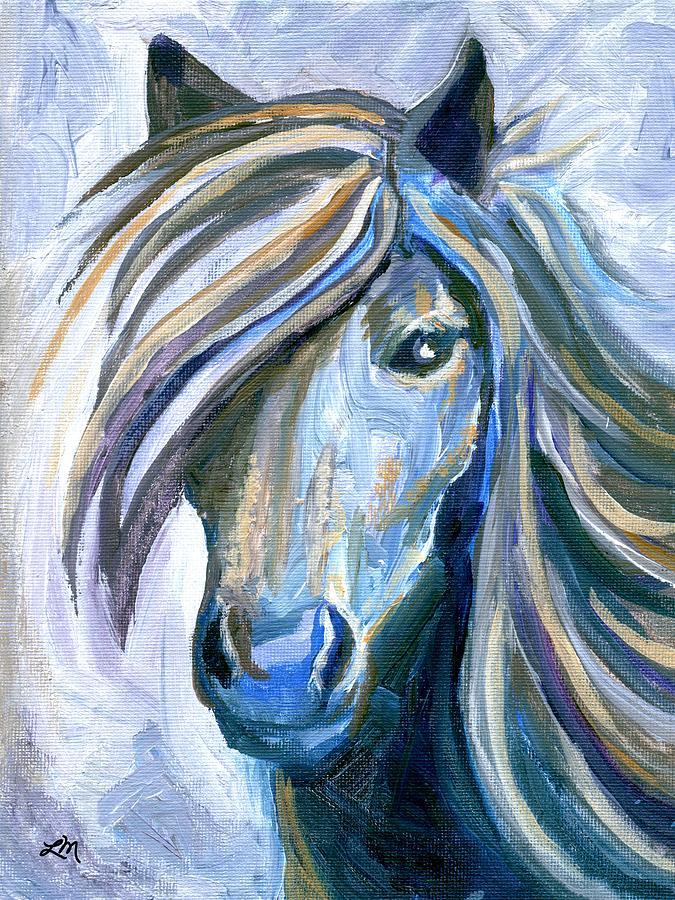Horse Portrait 102 Painting