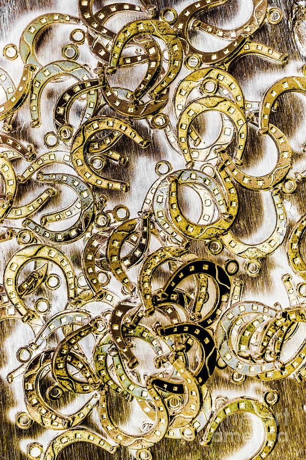 Horseshoe Photograph - Horseshoe Patterning by Jorgo Photography - Wall Art Gallery