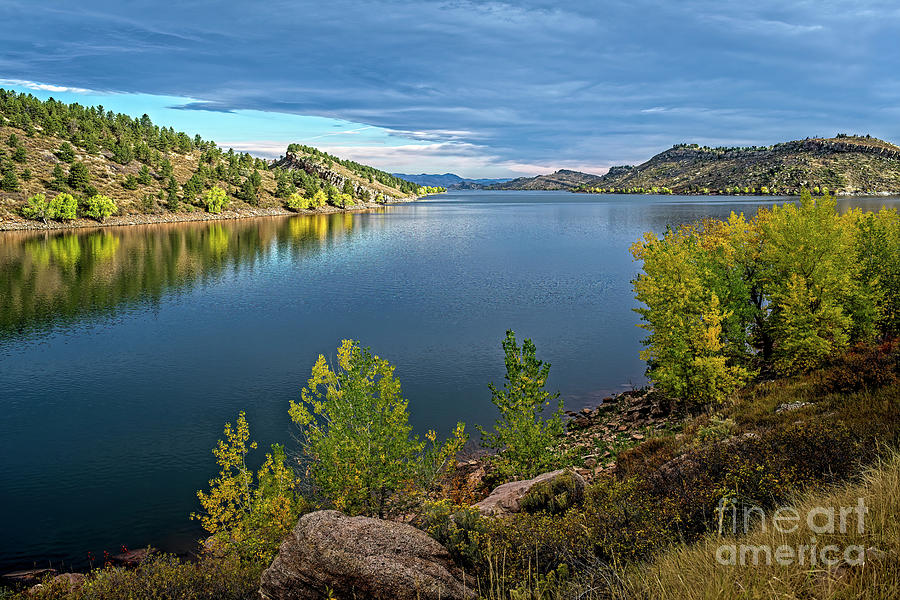 Horsetooth Autumn Southern View by Jon Burch Photography