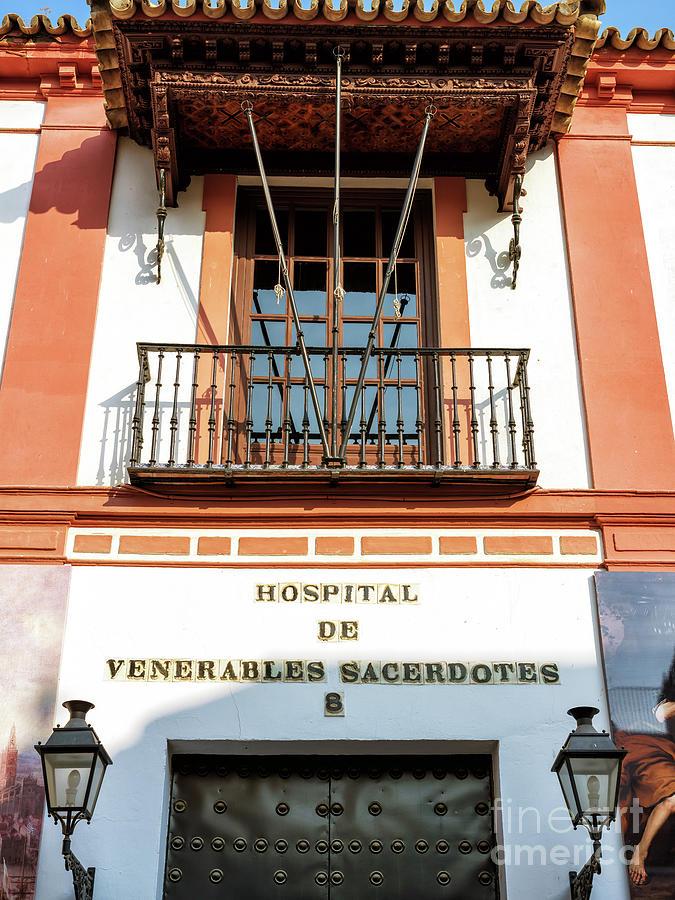 Hospital de los Venerables in Seville by John Rizzuto