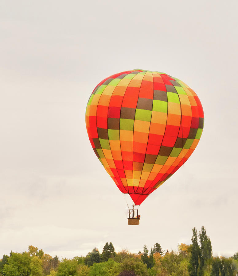 hot air ballon by Nick Mares