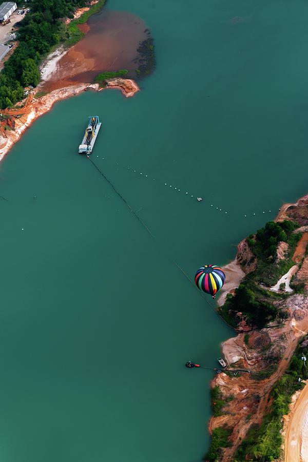 Hot Air Balloon Festival Photograph by Jim Mckinley