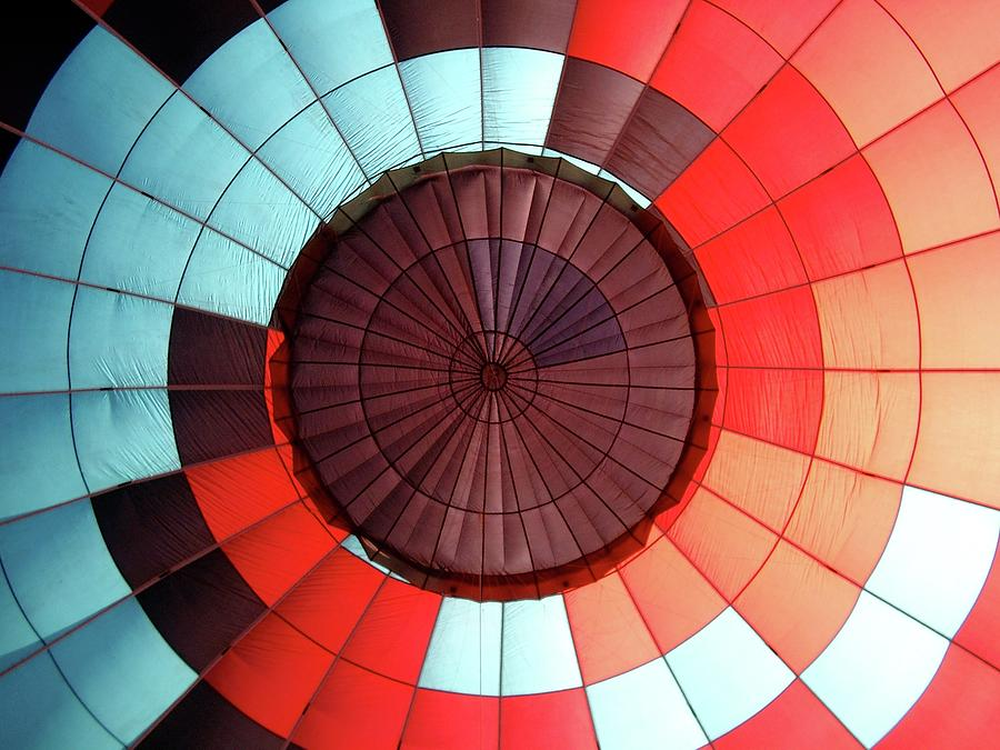 Hot Air Balloon Interior Photograph by Photo By Greg Thow
