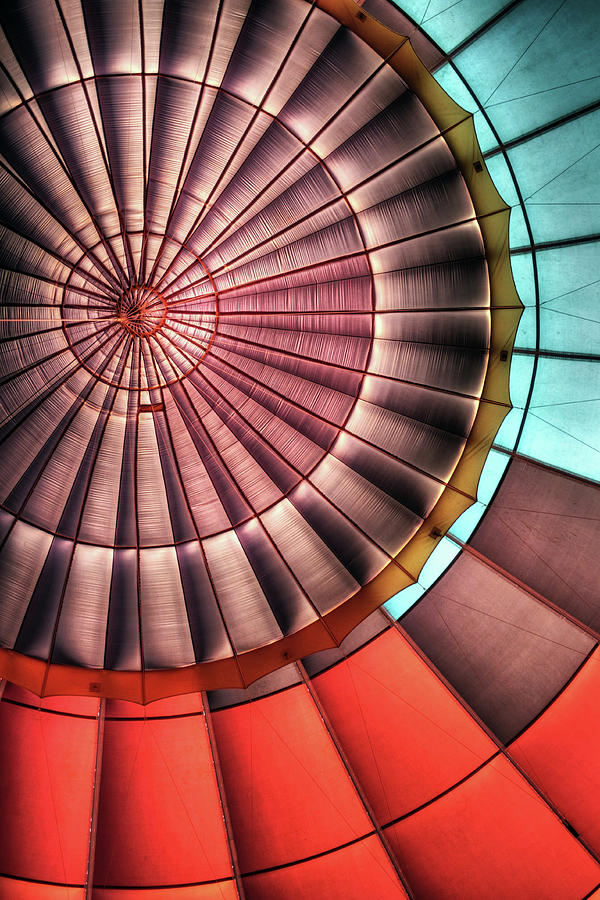 Hot Air Balloon Photograph by Photo By Greg Thow