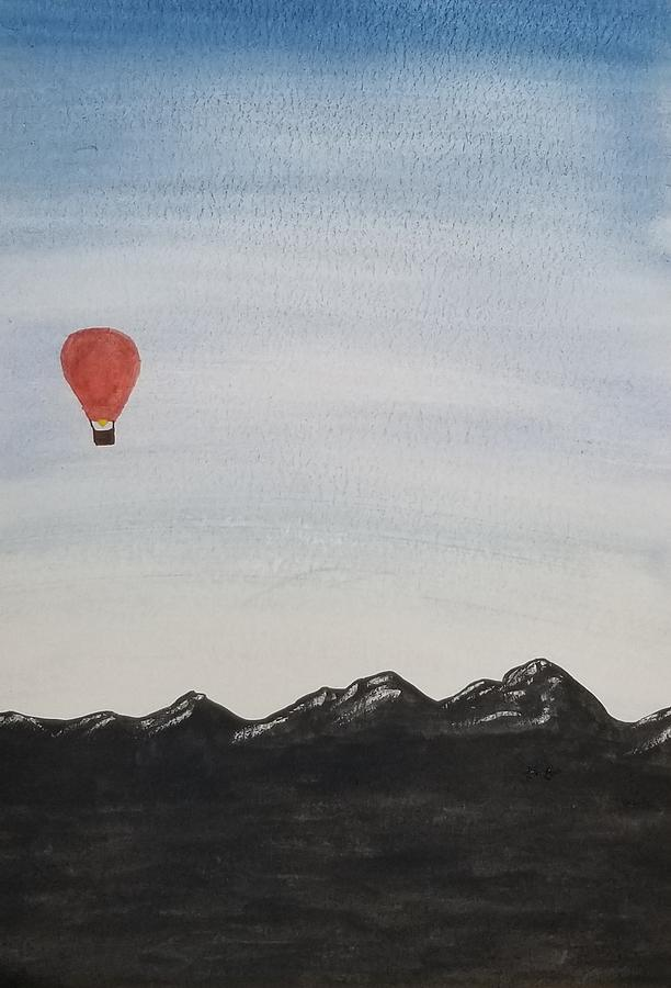 Hot Air Balloon Ride in the Mountains  by KRISTIN MCDONNEL