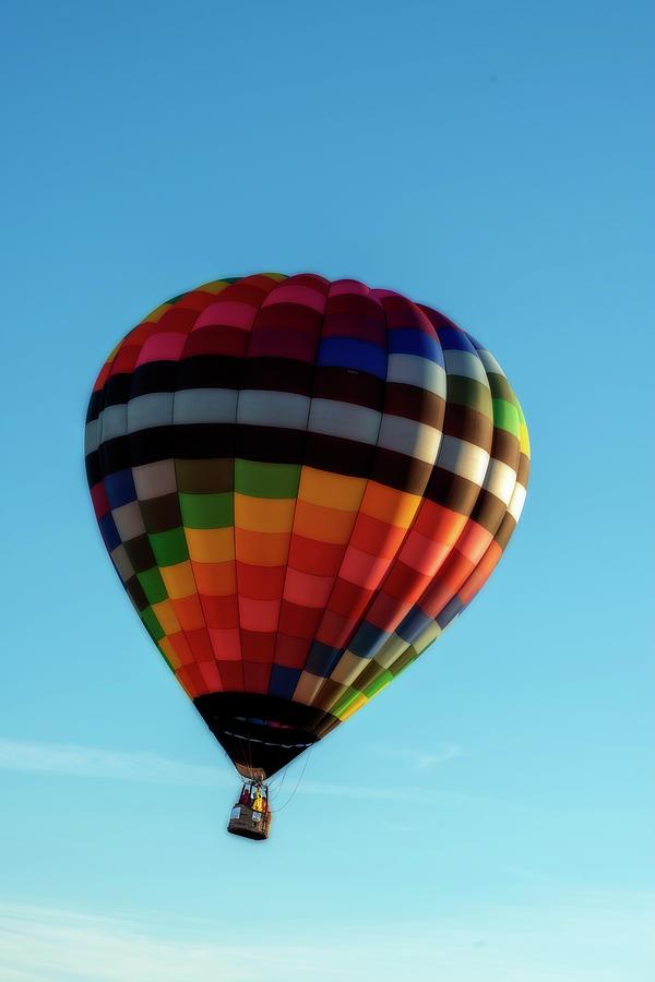 Hot Air Balloons Morgantown colorful by Dan Friend