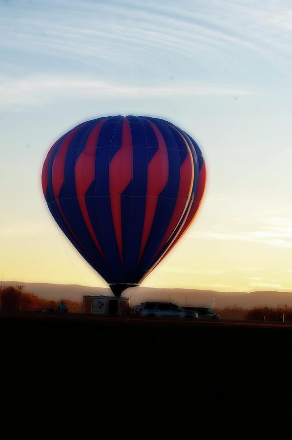 Hot Air Balloons Morgantown evening trip by Dan Friend