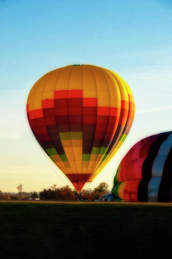 Hot Air Balloons Morgantown nice glow by Dan Friend