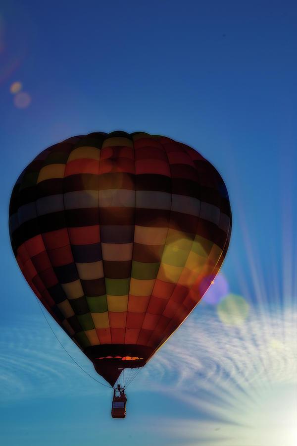 Hot Air Balloons Morgantown splash of sun by Dan Friend