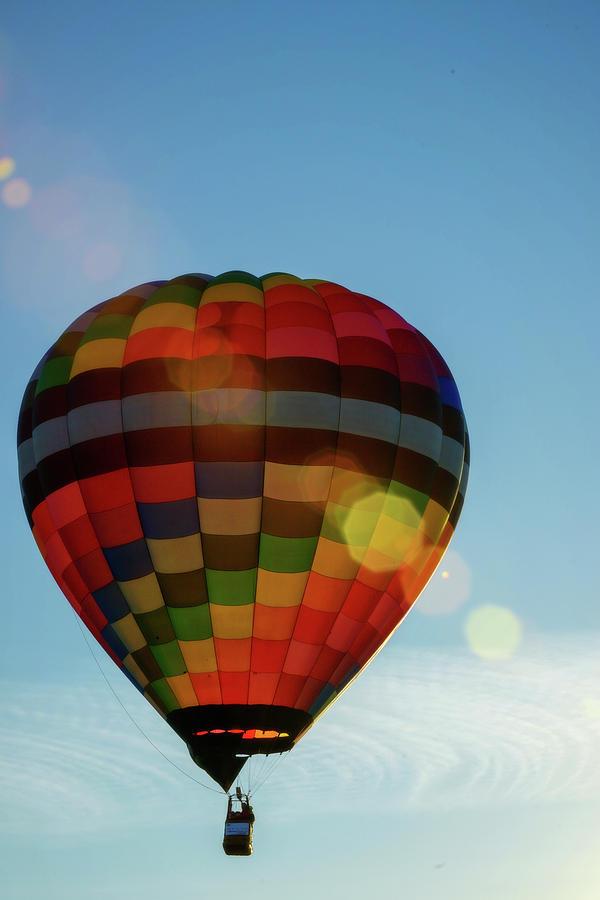 Hot Air Balloons Morgantown sun spots by Dan Friend