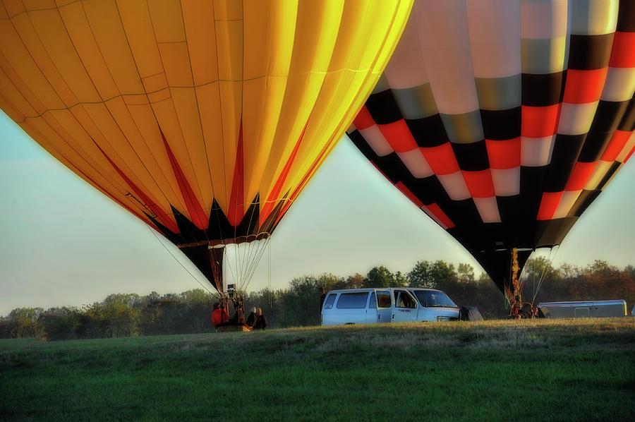 Hot Air Balloons Morgantown support van by Dan Friend