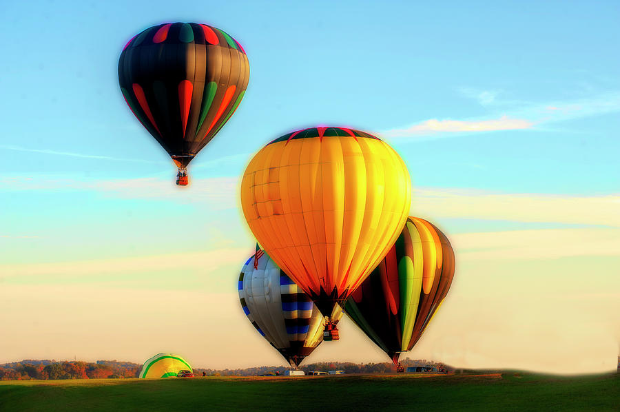 Hot Air Balloons Morgantown up up and away by Dan Friend