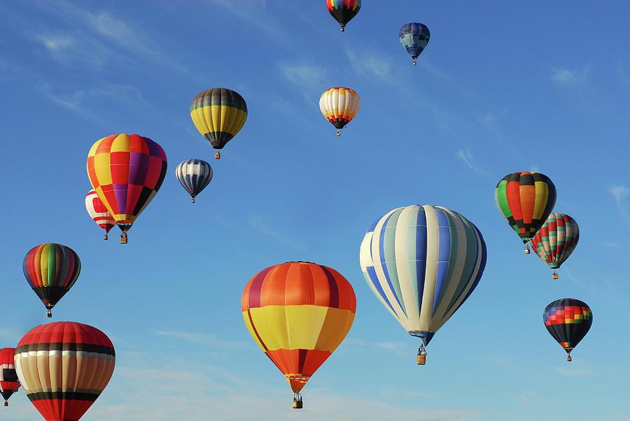 Hot Air Balloons Photograph by Sjlayne