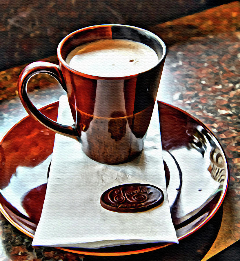 Hot Chocolate from Chocolat in Victoria by Darryl Brooks