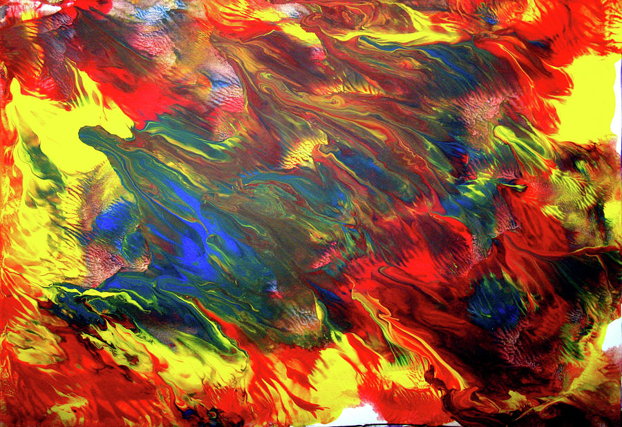 hot colors coolling by Leigh Odom