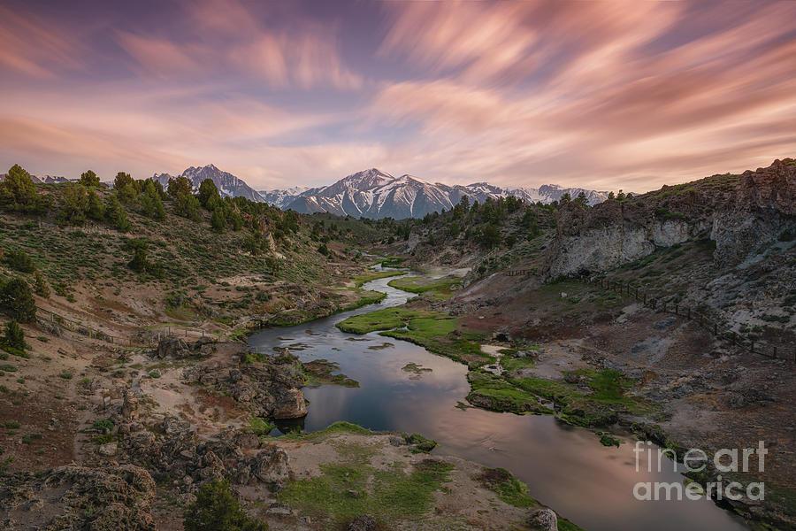 Hot Creek Overlook  by Michael Ver Sprill