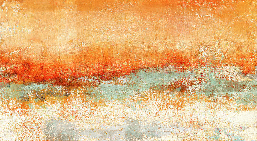 Carol Leigh Mixed Media - Hot Days Cool Waters by Carol Leigh