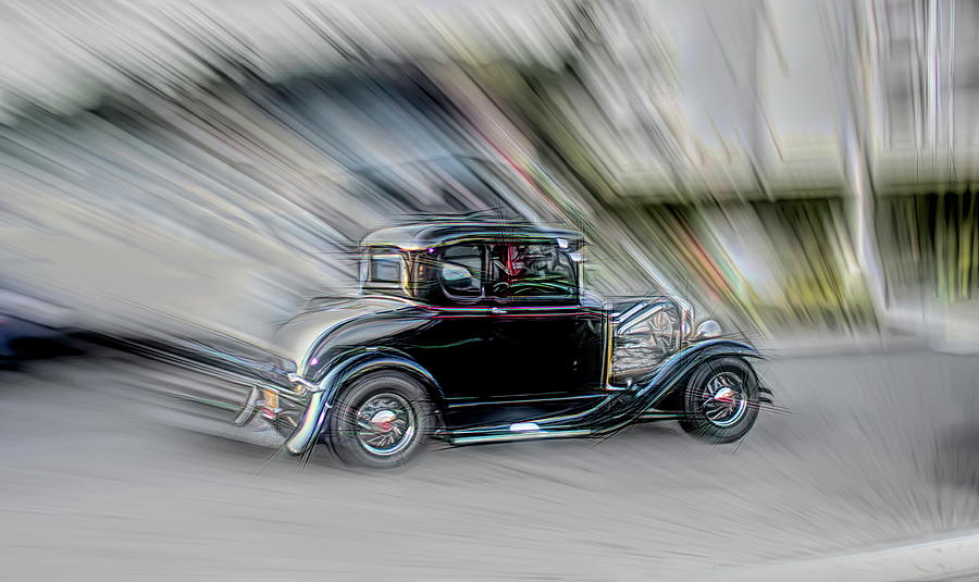 Hot Rod Coupe by Cathy Anderson