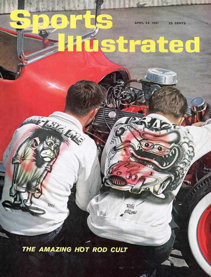 Hot Rod Culture, 1961 Autorama Sports Illustrated Cover Photograph by Sports Illustrated