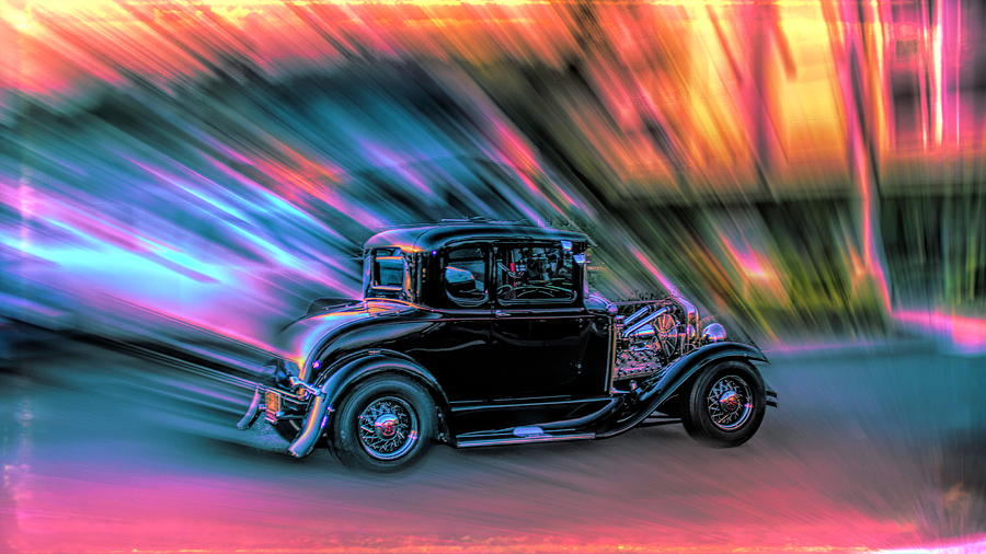 Hot Rod Hot colors by Cathy Anderson