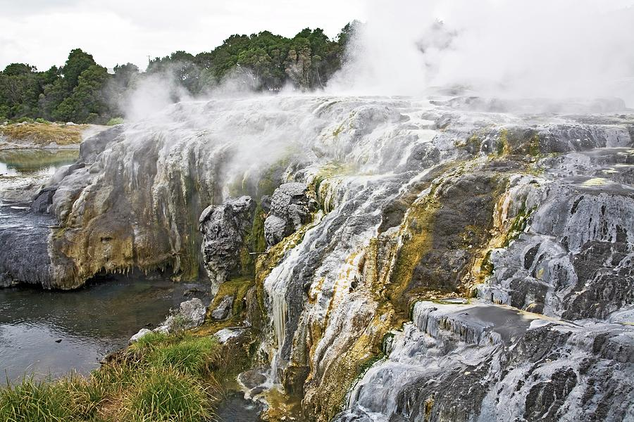 Hot Springs In Rotorua, New Zealand Photograph by Design Pics