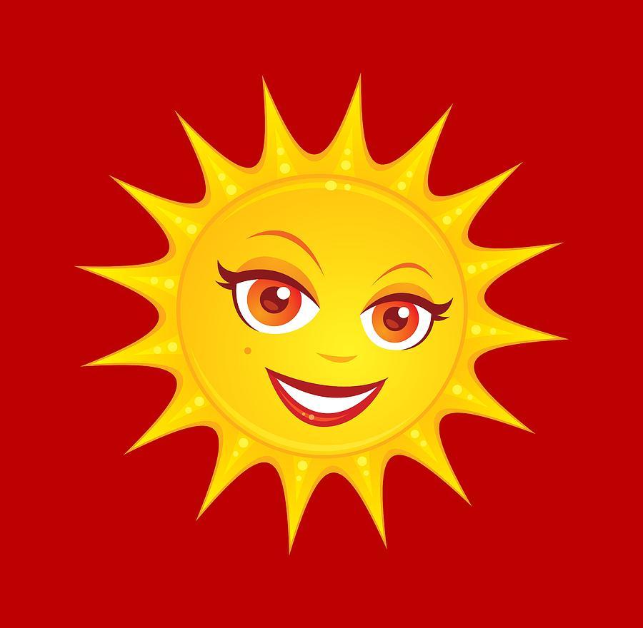 Hot Summer Sun Digital Art