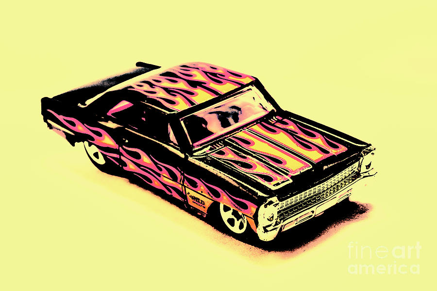 Classic Photograph - Hot Wheels by Jorgo Photography - Wall Art Gallery