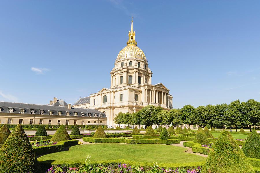 Hotel Des Invalides, Paris, France Photograph by John Harper