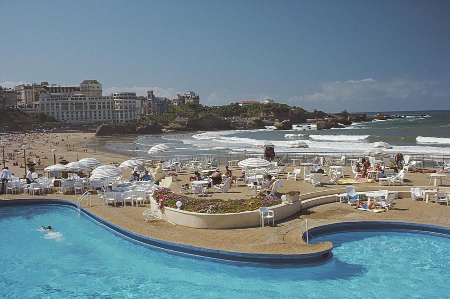 Hotel Du Palais Biarritz Photograph by Slim Aarons