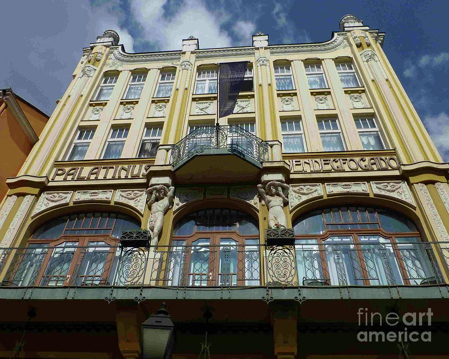 Hotel Palatinus in Pecs by Barbie Corbett-Newmin