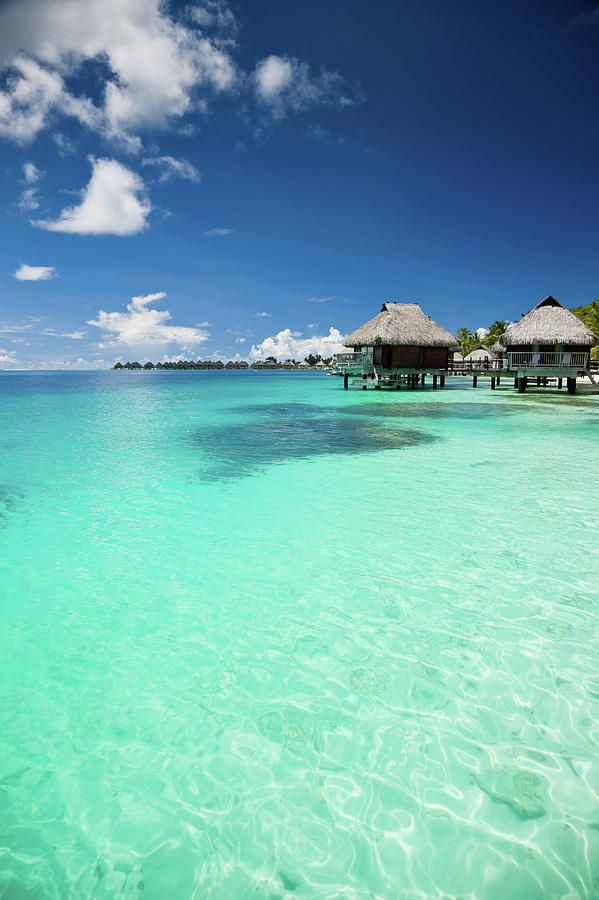 Hotel Resort In Paradise Lagoon Photograph by Mlenny