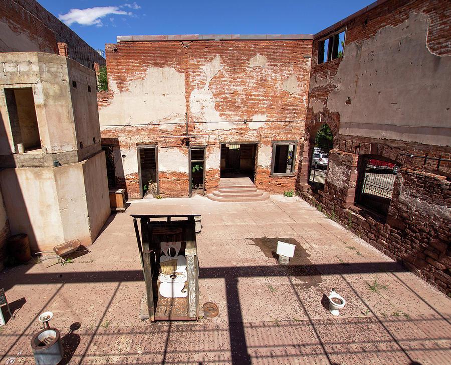 Hotel Ruins in Jerome Arizona  by Amy Sorvillo