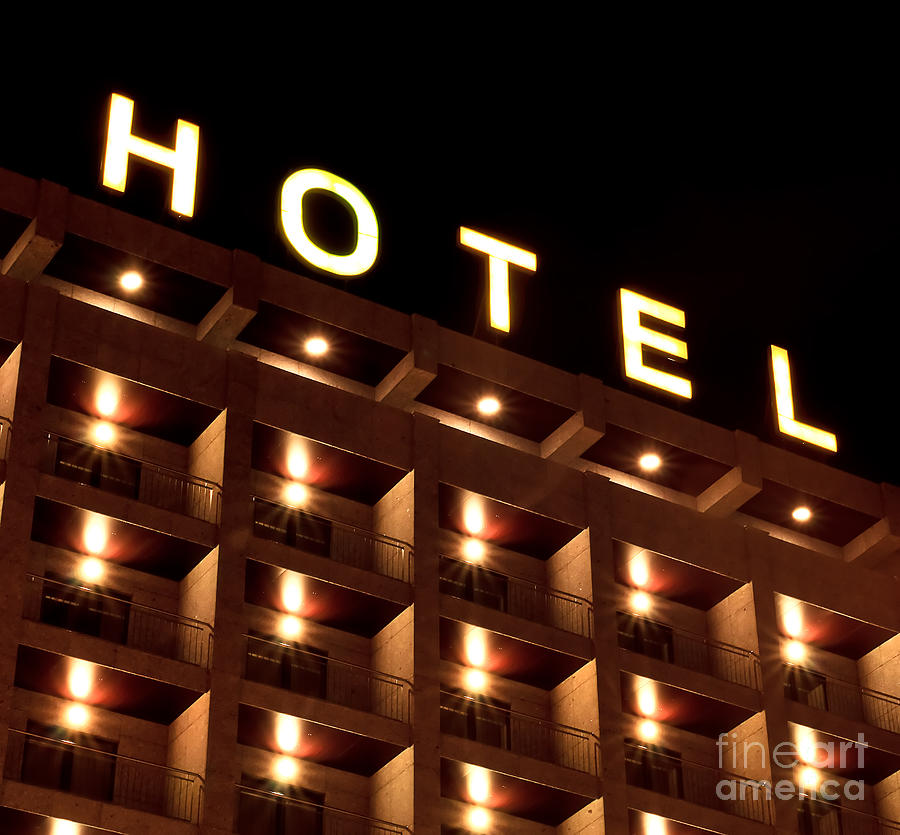 Spain Photograph - Hotel Sign by Joao Seabra