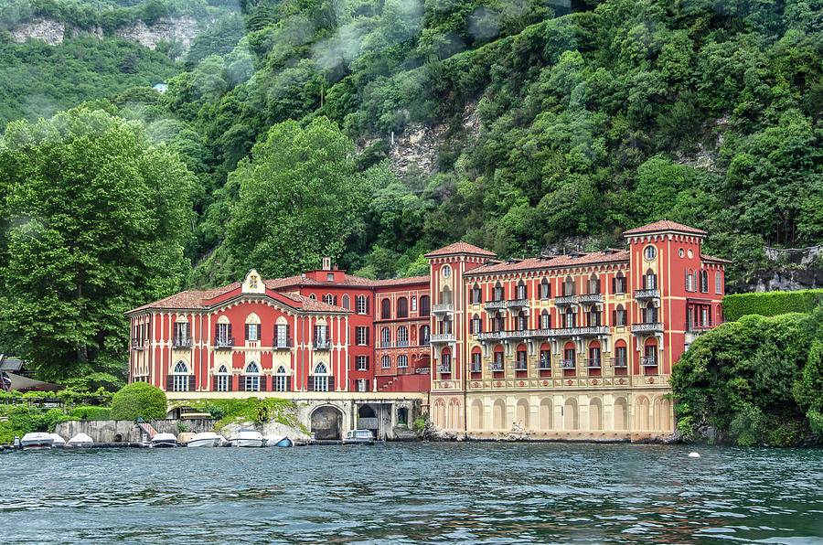 Hotel Villa d'Este on Lake Como by Douglas Wielfaert