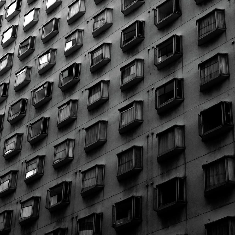 Hotel Windows Photograph by Sner3jp