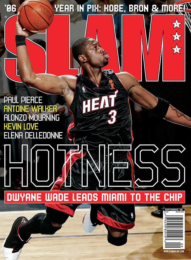 Hotness: Dwyane Wade Leads Miami to the Chip SLAM Cover Photograph by Getty Images