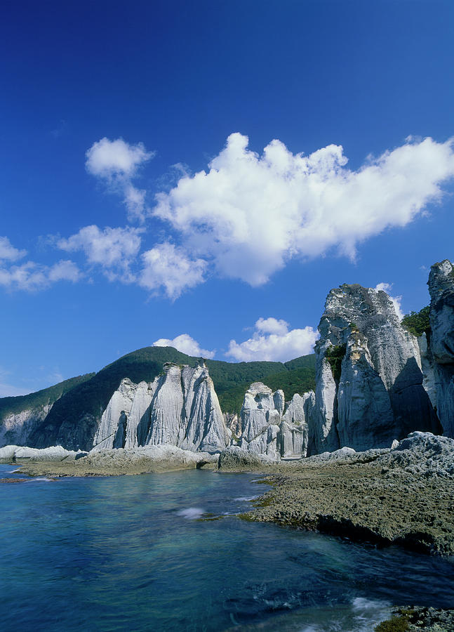 Hotokegaura, Sai, Shimokita, Aomori Photograph by Mixa