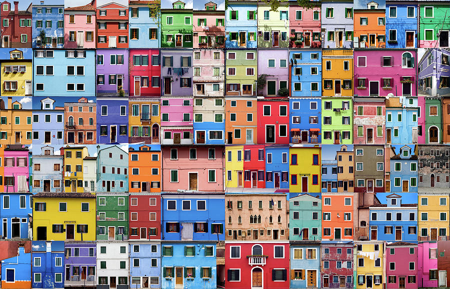 House And Home In Colour - Xxxlarge Photograph by Peteraustin
