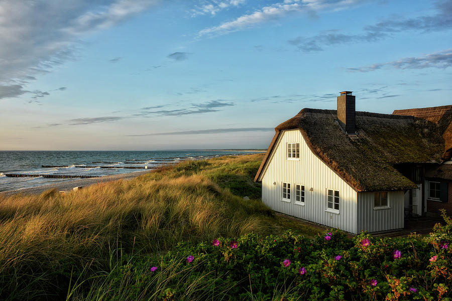 Cottage In The Dunes Photograph