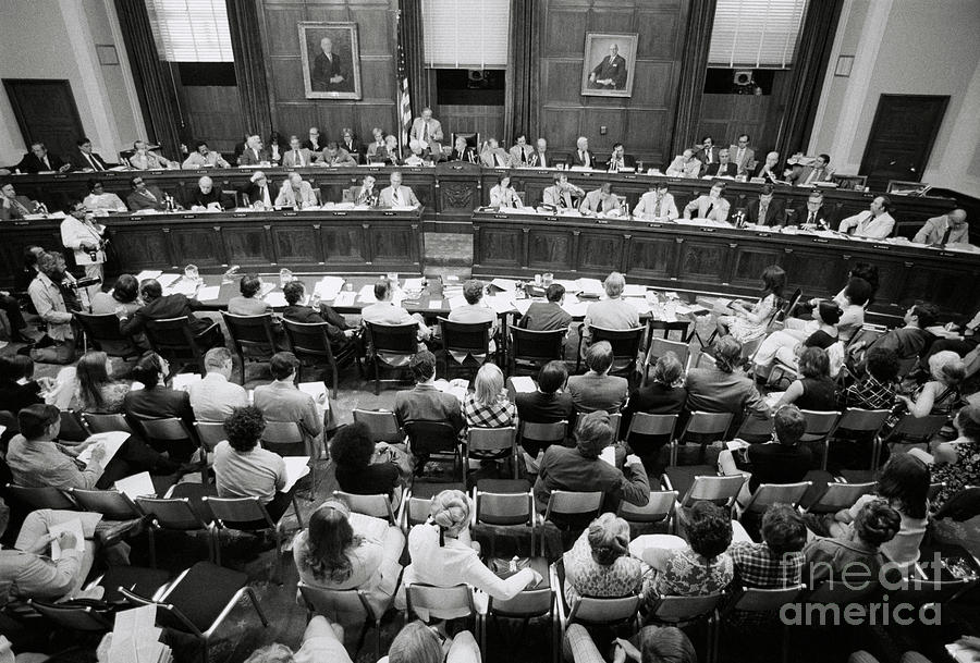 House Judiciary Committee Meeting Photograph by Bettmann