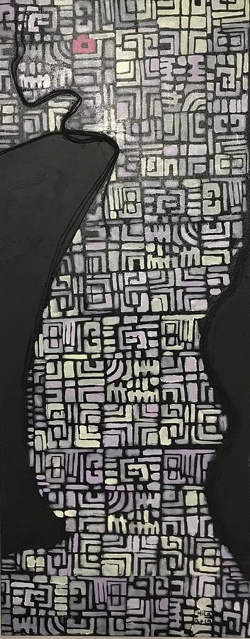 Expressionism Mixed Media - House Of A Soul by Hila Abada