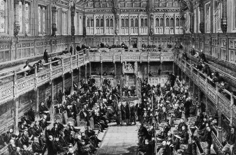 House Of Commons Interior Photograph by Hulton Archive