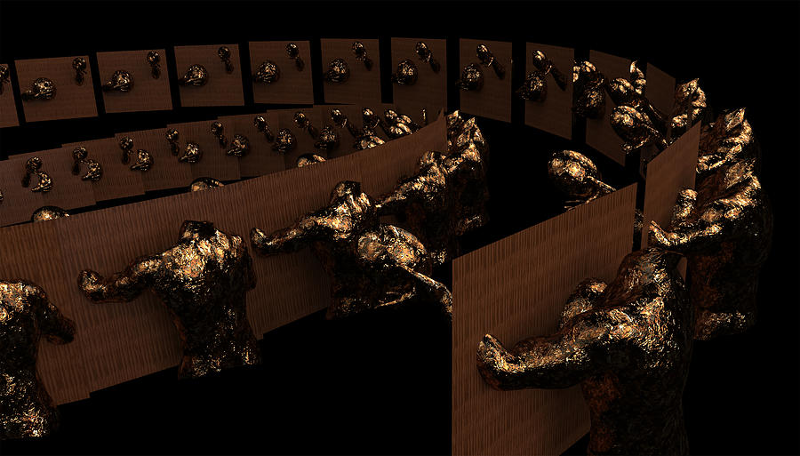 Politics Digital Art - House Of Uncommons by Carmen Hathaway