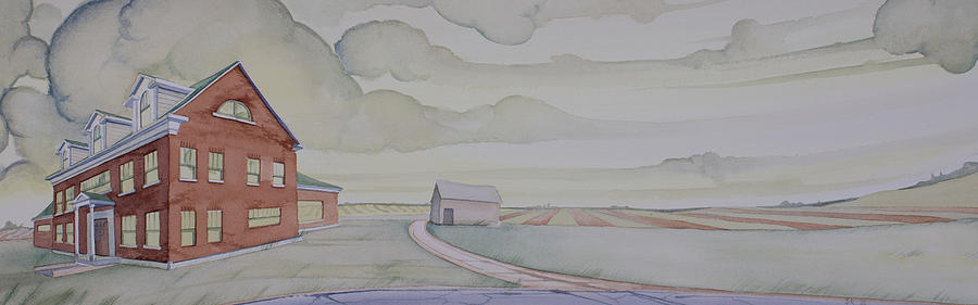 Rural Painting - House On Selma Road by Scott Kirby