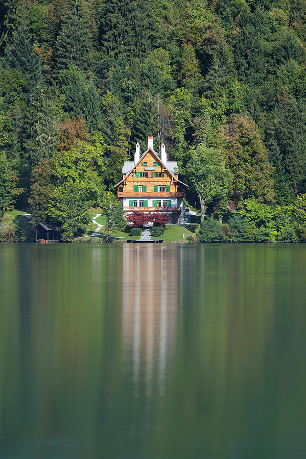 House on the lake by Davor Zerjav